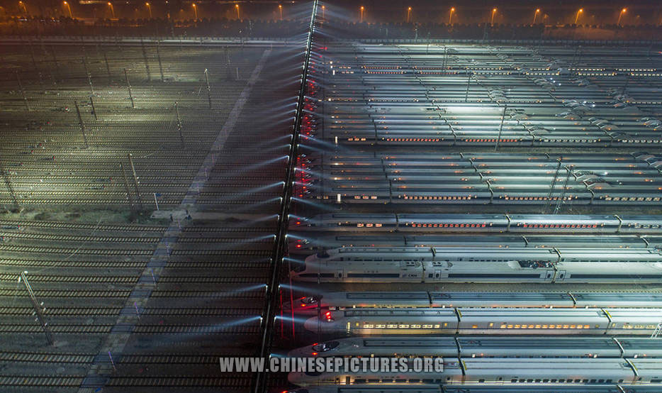 40 China High-Speed Trains Line-Up